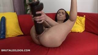 Jenny and her brutal dildos