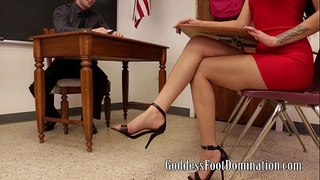 Hurry, the professor is cumming with esmi lee