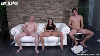 Melonechallenge lets party start three-some with mea melone & 2 lustful fellows