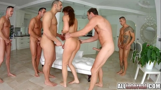 Tina kay anal bang creampie on all inward part two