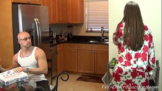 Madisin lee in i indeed wish a baby son. mama has her son impregnate her.creampie
