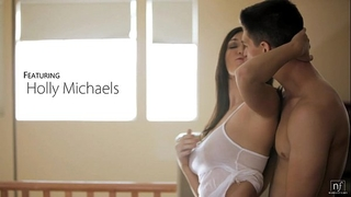 Nubile films - bigtit honey holly michaels cums on her mans tongue