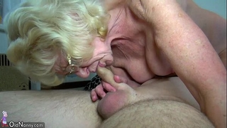 Oldnanny slim old grannies and juvenile beautiful angels is masturbating