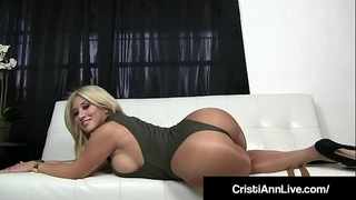Boss cristi ann confronts employee who stole her impure pantyhose!