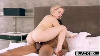 Blacked mia malkova can't live without bbc in 1st ir!!