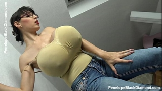 Penelope dark diamond - milking whoppers - breastfeeding scoops preview
