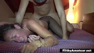 Anal paramour eat the muff curly! double penetration excitement for the milfs!