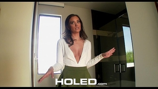 Holed - buyer inspects realtor gia paige flawless booty in anal fuck