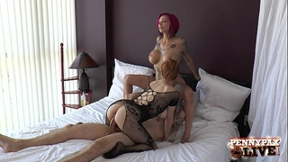 Bts three-some anna belle peaks, penny pax & alex legend part three